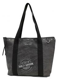 Harley-Davidson® Women's Bar & Shield® Embroidery Tote
