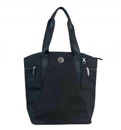 Harley-Davidson® Women's World Tour Collection Vertical Tote | Ergonomic Double Handle