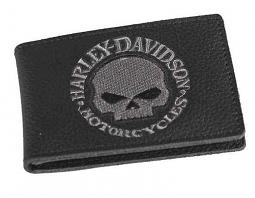 Harley-Davidson® Men's Willie G® Skull Duo-Fold Wallet