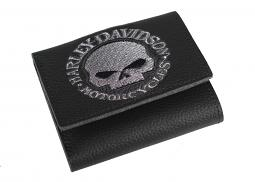 Harley-Davidson® Men's Willie G® Skull Tri-Fold Wallet