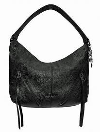 Harley-Davidson® Women's Zip-It Hobo Handbag | Fixed Shoulder Strap