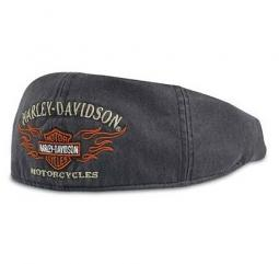 Harley-Davidson® Men's Flame Graphic Ivy Cap