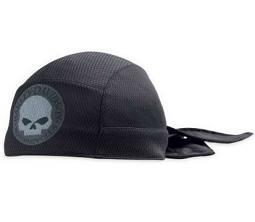 Harley-Davidson® Men's Skull Textile Skull Cap