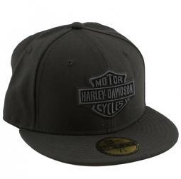 Harley-Davidson® Men's Tonal Bar & Shield® Logo 59FIFTY® Baseball Cap