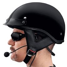 Harley-Davidson® Boom!™ Audio Half Helmet Music and Communications Headset