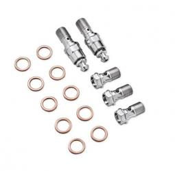 Harley-Davidson® Chrome Banjo Bolt Kit