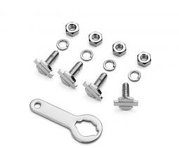 Harley-Davidson® Bar & Shield® License Plate Mounting Hardware Kit