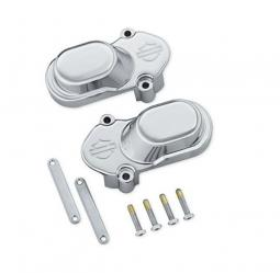 Harley-Davidson® Bar & Shield Rear Axle Cover Kit