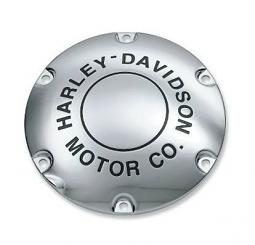 Harley-Davidson® Motor Co. Chrome Logo Derby Cover 25130-04A