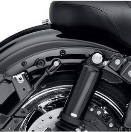 Harley-Davidson® Fender Strut Covers - Gloss Black