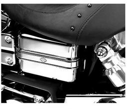 Harley-Davidson® Electrical Panel Cover w/Trim 66426-04