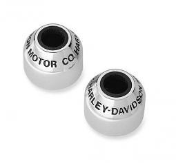 Harley-Davidson® H-D Motor Co. Chrome Collection Spark Plug Covers