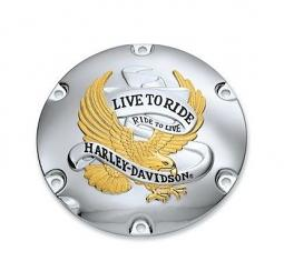 Harley-Davidson® Live to Ride Derby Cover