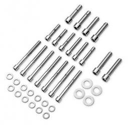 Harley-Davidson® Transmission Hardware Kit | Chrome