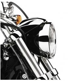 Harley-Davidson® Headlamp Trim Ring | Chrome