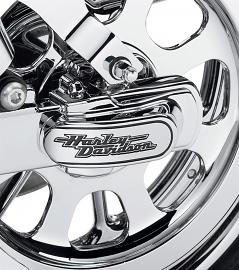 Harley-Davidson® Script Rear Axle Cover Kit