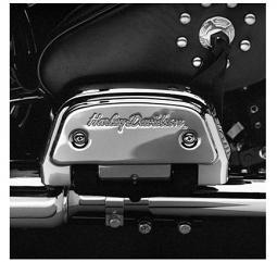 Harley-Davidson® Script Passenger Footboard Covers 50782-91