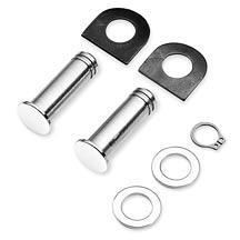 Harley-Davidson® Polished Stainless Steel Footpeg Mounting Pins