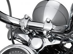 Harley-Davidson® Handlebar Clamp Bolt Covers