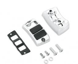 Harley-Davidson® Auxiliary Accessory Switch Housing Kit | Chrome | Right Side