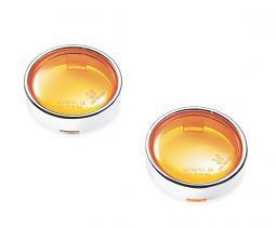 Harley-Davidson® Front or Rear Turn Signal Trim Ring Kit / Amber
