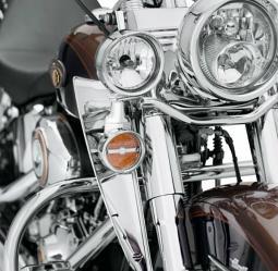 Harley-Davidson® Fork-Mount Wind Deflectors
