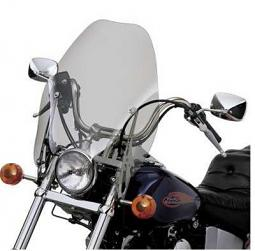 Harley-Davidson® Detachables™ 18 Inch Super Sport Windshield Light Smoke