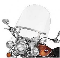 Harley-Davidson® Detachable King-Size Windshield for FL Softail® Models with Auxiliary Lighting Clear