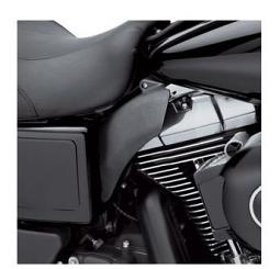 Harley-Davidson® Mid-Frame Air Deflectors for Dyna® in Black