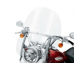 Harley-Davidson® Detachables™ Tall Windshield Switchback Clear