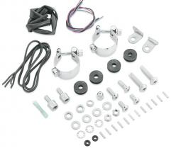 Harley-Davidson® Windshield Docking Hardware and Turn Signal Relocation Kit