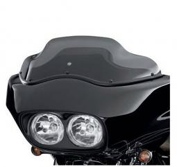 Harley-Davidson® 9 Inch Wind Splitter Windshield in Dark Smoke