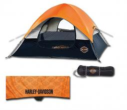 Harley-Davidson® Bar & Shield® Road Ready 3-Man Tent