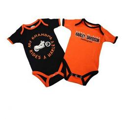 Harley-Davidson® Boys' 2-Pc Creeper Set | My Grandpa Rides a Harley