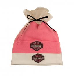Harley-Davidson® Girls' Newborn Hat Gift Set