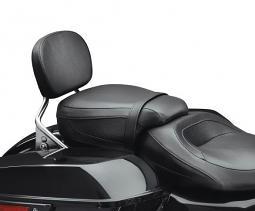 Harley-Davidson® Low-Profile Passenger Pillion - Black Smooth Vinyl
