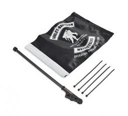 Harley-Davidson® Wounded Warrior Project Flag Kit | Sissy Bar Mount