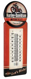 Harley-Davidson® Vintage Style Thermometer | Let's Ride