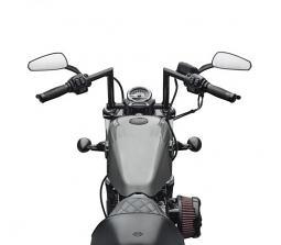 Harley-Davidson® Chizeled Lo Handlebar-Gloss Black