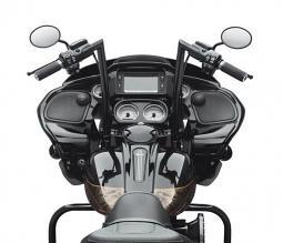 Harley-Davidson® Road Glide® Chizeled Handlebar - Gloss Black