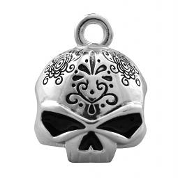 Harley-Davidson® Day of the Dead Willie G® Skull Motorcycle Ride Bell