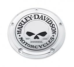 Harley-Davidson® Willie G® Skull Chrome Collections | Derby Cover