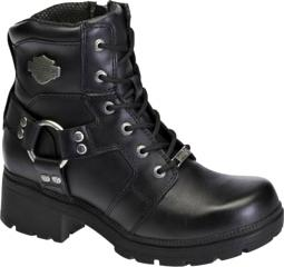 HARLEY-DAVIDSON® FOOTWEAR Women's Jocelyn Leather Lifestyle Boots