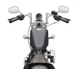 Harley-Davidson® Chizeled Lo Handlebar-Chrome