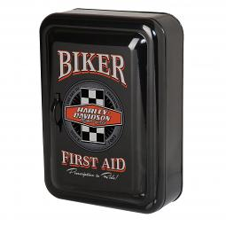 Harley-Davidson® Biker First Aid Key Cabinet