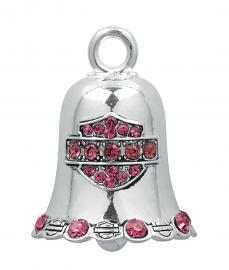 Harley-Davidson® Bar & Shield® Ride Bell   Pink Crystal