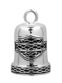 HaHarley-Davidson® Celtic Bar & Shield Silver Motorcycle Ride Bell