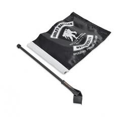 Harley-Davidson® Wounded Warrior Project Flag Kit | Hard Saddlebag or Window