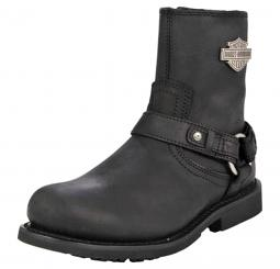 Harley-Davidson® Men's Scout Black Leather Lifestyle Boots